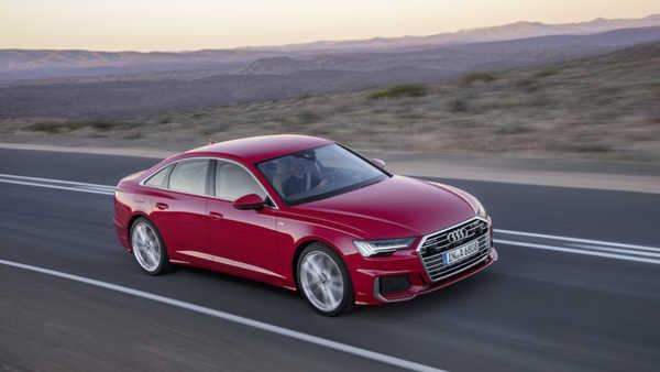 Audi A6 2018 achter Generation